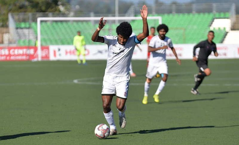 Willis Plaza has scored four goals for Churchill Brothers in the I-League this season. AIFF
