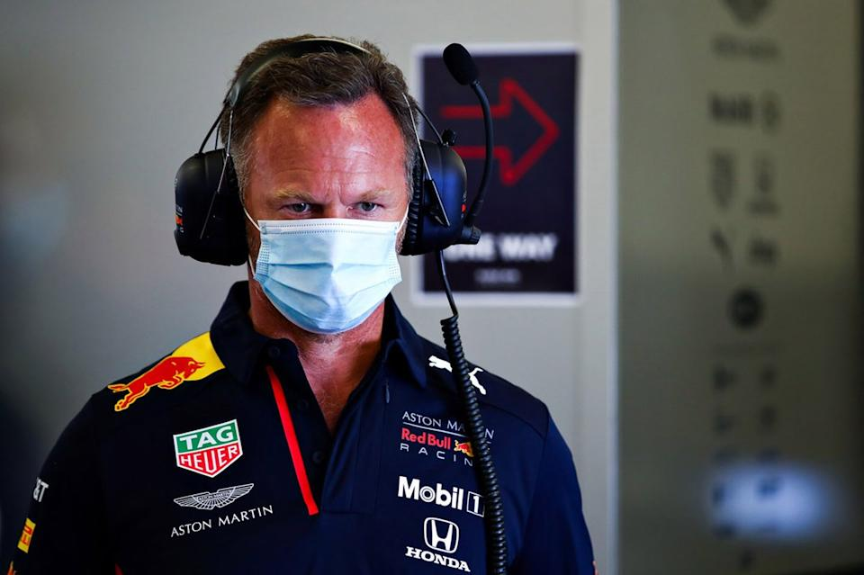 "Christian Horner, directeur de Red Bull Racing<span class=""copyright"">Red Bull Content Pool</span>"