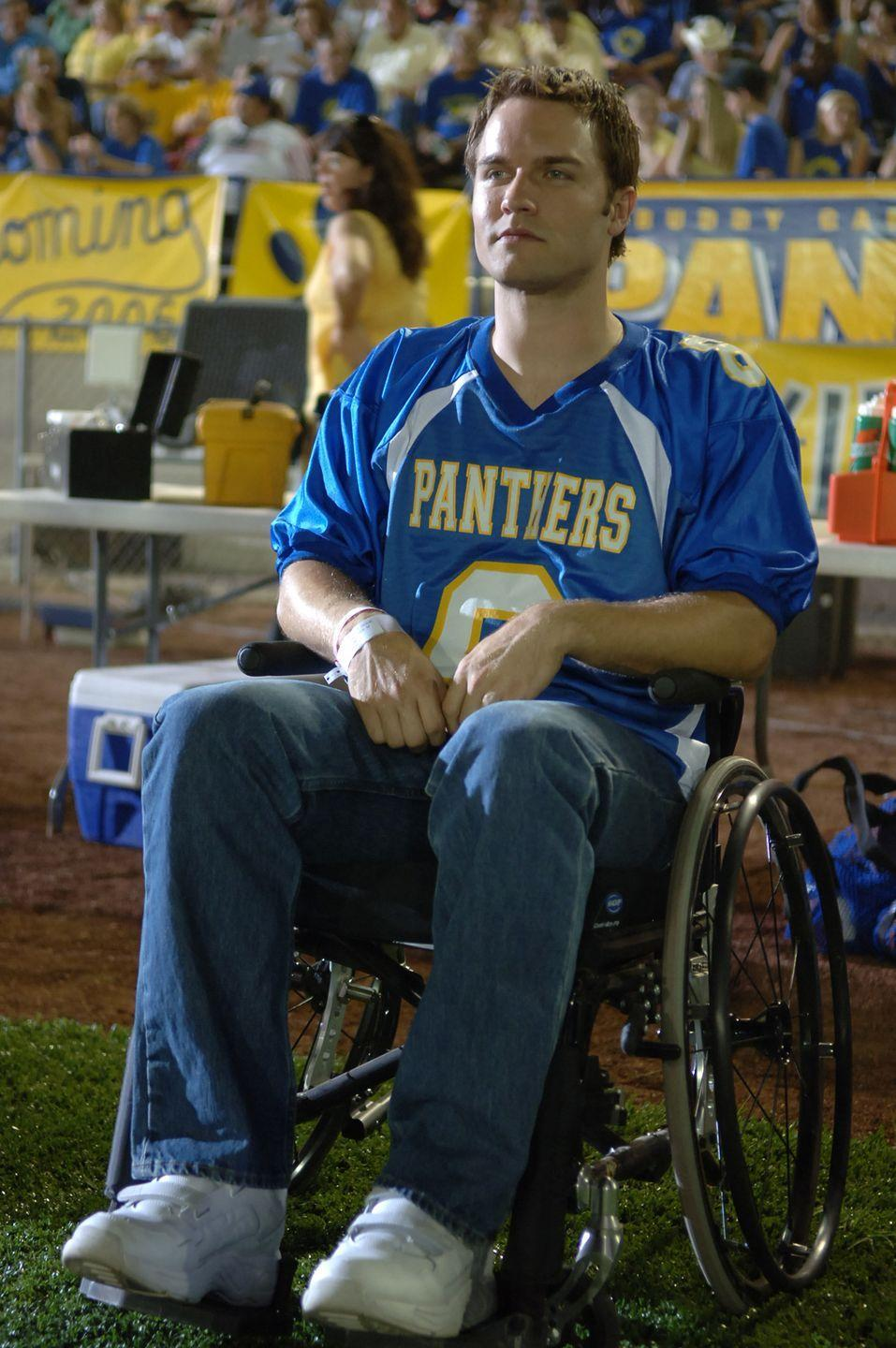 <p>As Jason Street, he was the star quarterback of the Dillon Panthers until a freak accident the first game of his senior year left him paralyzed from the waist down. The character eventually moves to New Jersey to be with his wife and son in the third season. </p><p>Prior to accepting the role, Scott Porter had small parts in various television shows and films, including <em>Ugly Betty</em> and <em>As the World Turns</em>.</p>