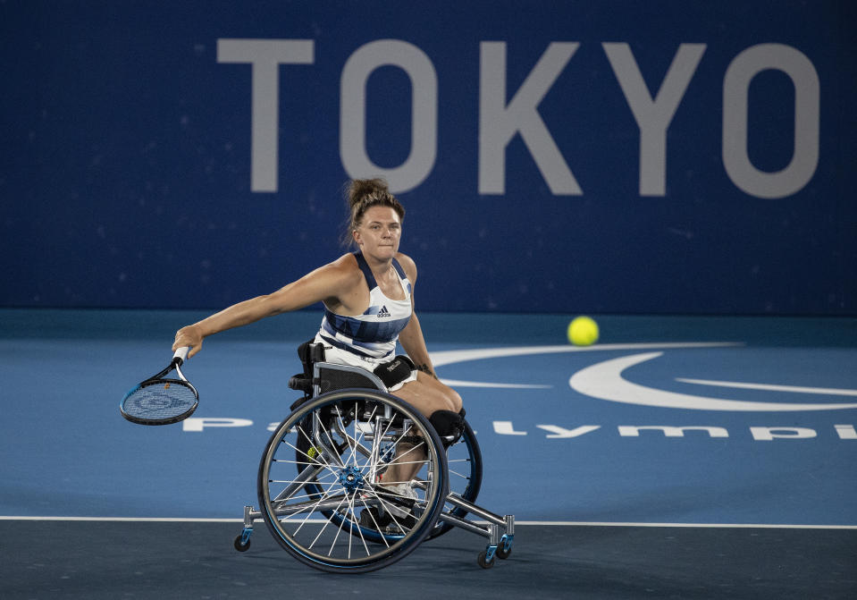 Whiley, 29, kept her gold medal hopes alive with a fine win alongside Lucy Shuker in Tokyo