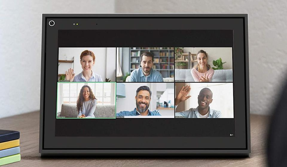 The Facebook Portal makes a great standalone station for Zoom calls, but also works with Facebook Messenger. It's a full-featured smart display as well. Great deal at $99. (Photo: Facebook)