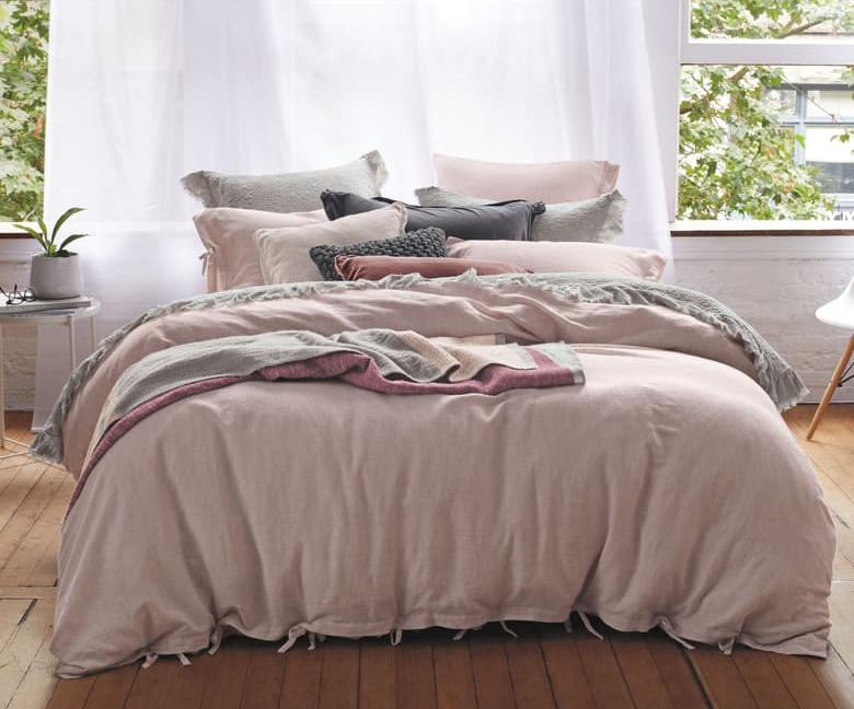 Gorgeous home furnishings, including pillows, sheets and towels are on sale through August 4th. (Photo: Nordstrom)