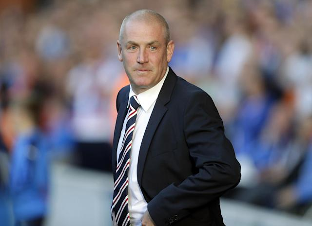 Football - Rangers v St Mirren - Ladbrokes Scottish Championship - Ibrox Stadium - 7/8/15 Rangers' manager Mark Warburton Action Images via Reuters / Graham Stuart Livepic EDITORIAL USE ONLY.