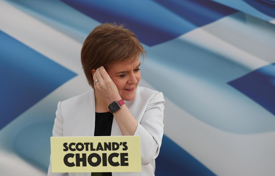 Nicola Sturgeon succeeded Alex Salmond as First Minister and SNP leader in 2014 (Russell Cheyne/PA)
