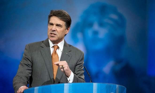 Rick Perry jumped at the chance to roast Mitt Romney this week.