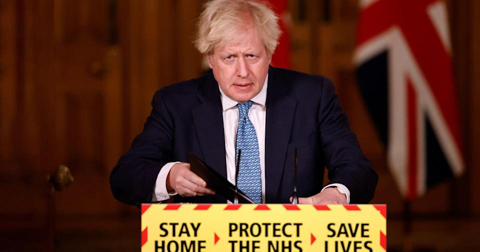 <p>Boris Johnson will appear at the briefing alongside Professor Chris Whitty Sir Patrick Vallance</p> (AFP via Getty Images)