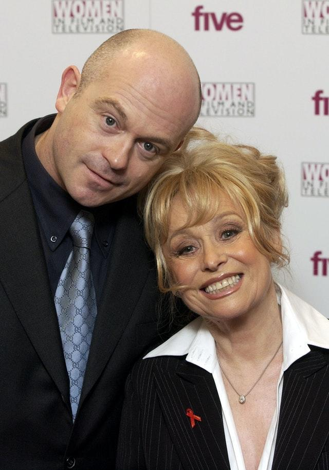 Barbara Windsor with Ross Kemp