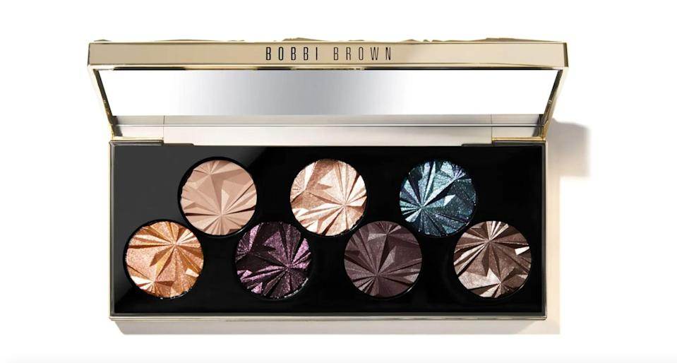 <p>Add a pop of color and glamour with the mesmerizing <span>Bobbi Brown Luxe Gems Eyeshadow Palette</span> ($53, originally $75).</p>