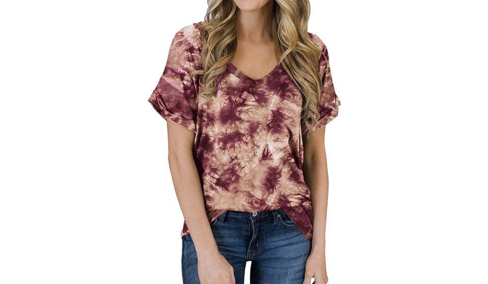 Dig tie-dye? You'll swoon over this tee. (Photo: Amazon)
