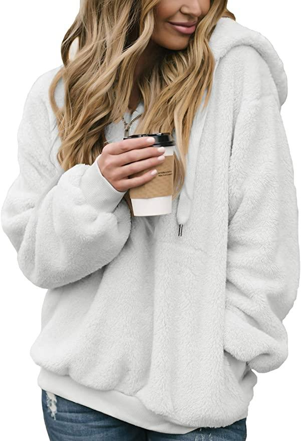 Dokotoo Fuzzy Sweatshirt (Photo: Amazon)