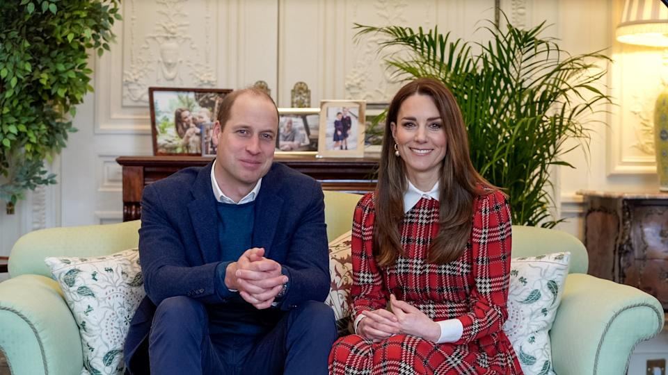 The Duke and Duchess of Cambridge sent haggis dinners for NHS staff. (Kensington Palace)