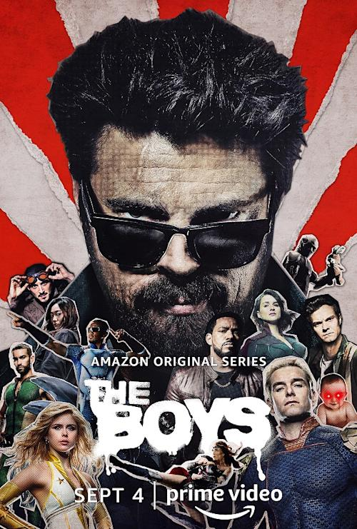 The Boys Season 2 Poster