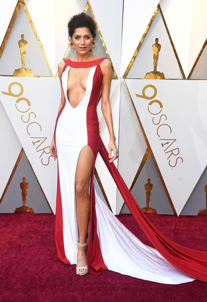 <p>Blanca Blanco attends the 90th Annual Academy Awards at Hollywood & Highland Center on March 4, 2018 in Hollywood, California. (Photo by Frazer Harrison/Getty Images) </p>