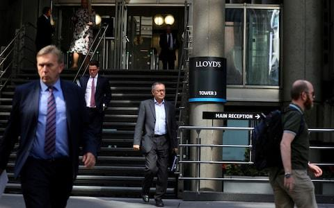 Lloyds of London - Credit: Simon Dawson/REUTERS