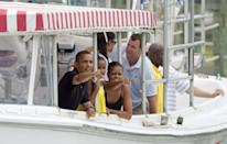<p>Should they decide to, the President can spend the $100,000 stipend to go on vacation wherever they desire.</p>