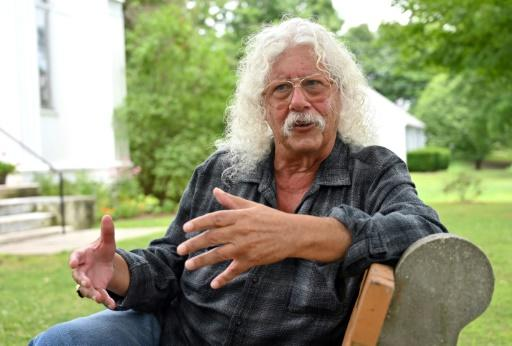 American singer-songwriter Arlo Guthrie was among the 32 acts to play Woodstock in 1969