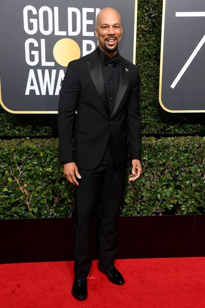 <p>Common, a presenter, attends the 75th Annual Golden Globe Awards at the Beverly Hilton Hotel in Beverly Hills, Calif., on Jan. 7, 2018. (Photo: Steve Granitz/WireImage) </p>