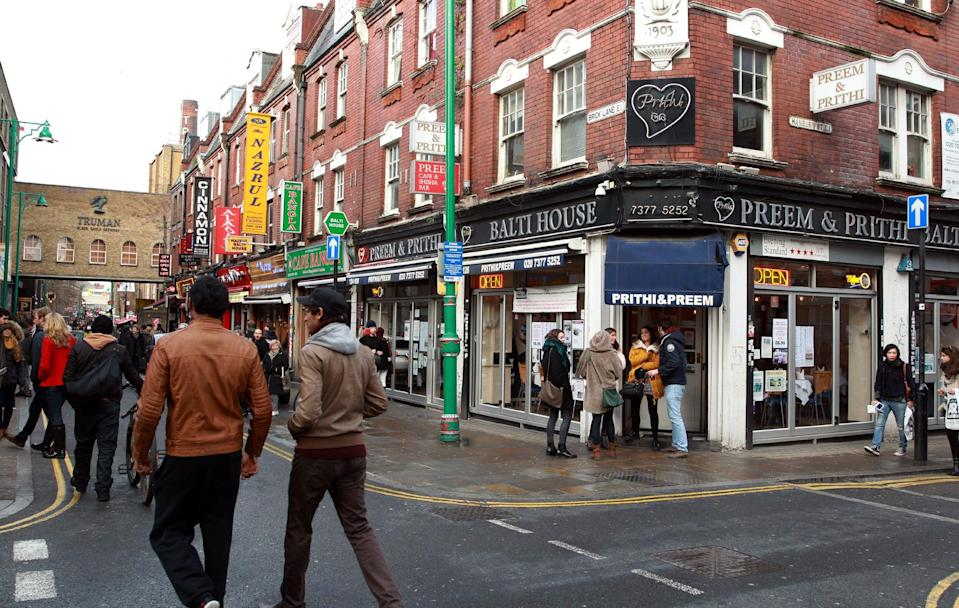 The alleged incident took place on Brick Lane (PA)