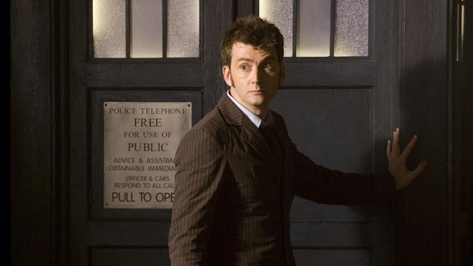 David Tennant played the title role in 'Doctor Who' from 2005 until 2010. (Credit: BBC)