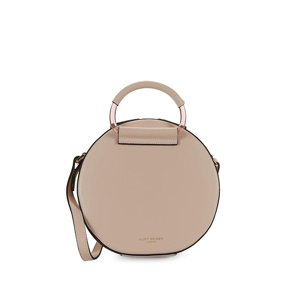 <p>You'll use this timeless <span>Kurt Geiger London Mini Round Crossbody Bag</span> ($195) for years.</p>