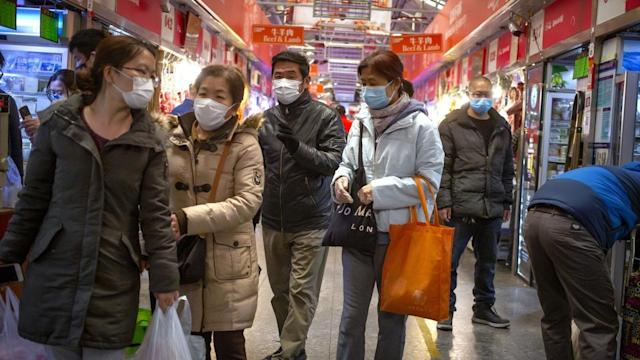 Mainland China recorded 20 new confirmed cases of coronavirus infections on Saturday