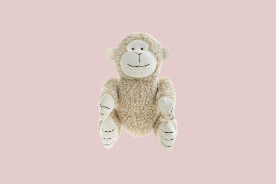 """<p>From the London-based designers at Mungo & Maud, this charming plush animal is luxuriously soft with velcro-attached limbs and a hidden squeaky.</p> <p><strong><em>Shop Now: </em></strong><em>Mungo and Maud Pull My Leg Monkey Dog Toy, $37, </em><a href=""""https://us.mungoandmaud.com/dogs/dog-toys/pull-my-leg-monkey-dog-toy"""" rel=""""nofollow noopener"""" target=""""_blank"""" data-ylk=""""slk:us.mungoandmaud.com"""" class=""""link rapid-noclick-resp""""><em>us.mungoandmaud.com</em></a><em>.</em></p>"""