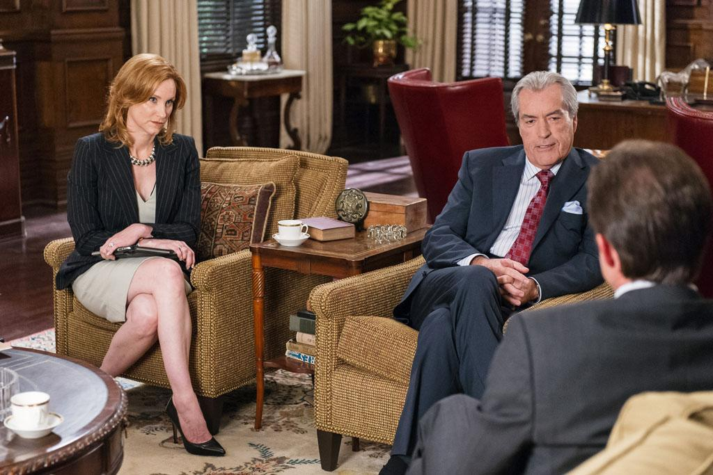 "Judith Hoag, Powers Boothe and Eric Close in the ""Nashville"" episode, ""You're Gonna Change (or I'm Gonna Leave)."""