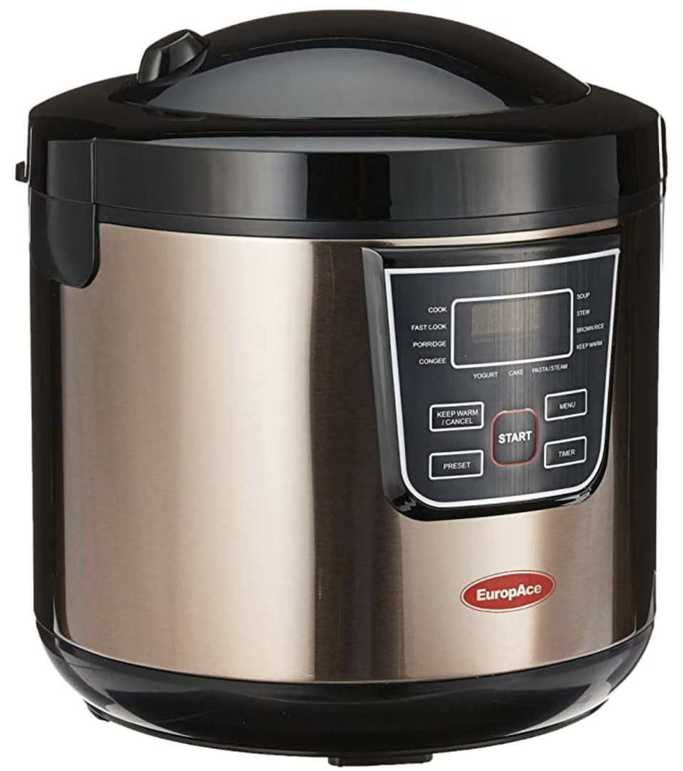 EuropAce Rice Cooker, 1.8L (multi-function rice cooker). (PHOTO: Amazon)