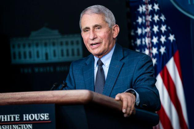 Director of the National Institute of Allergy and Infectious Diseases, Anthony Fauci.