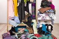 """Sorry, <strong>Marie Kondo</strong>. According to <a rel=""""nofollow noopener"""" href=""""http://articles.latimes.com/2014/mar/21/health/la-he-keeping-stuff-20140322"""" target=""""_blank"""" data-ylk=""""slk:one report"""" class=""""link rapid-noclick-resp"""">one report</a>, the average American home contains about 300,000 individual items, from furniture to office supplies."""