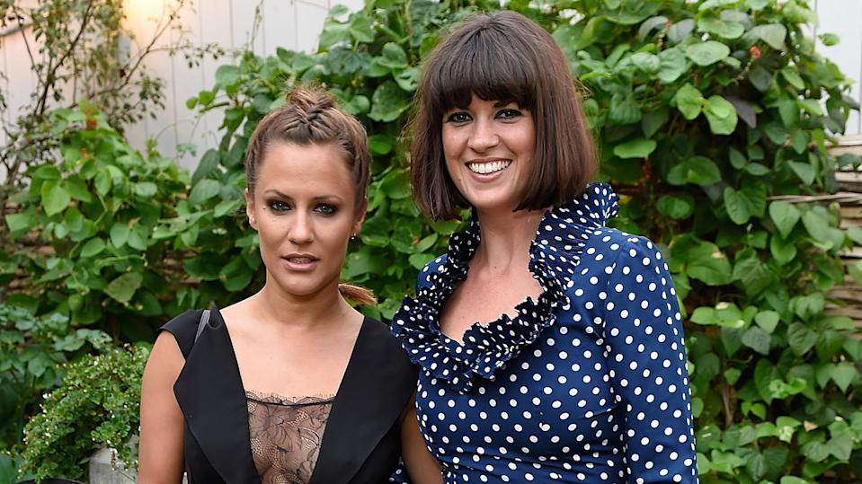 Caroline Flack and Dawn O'Porter (David M. Benett/Dave Benett/Getty Images for John Lewis)