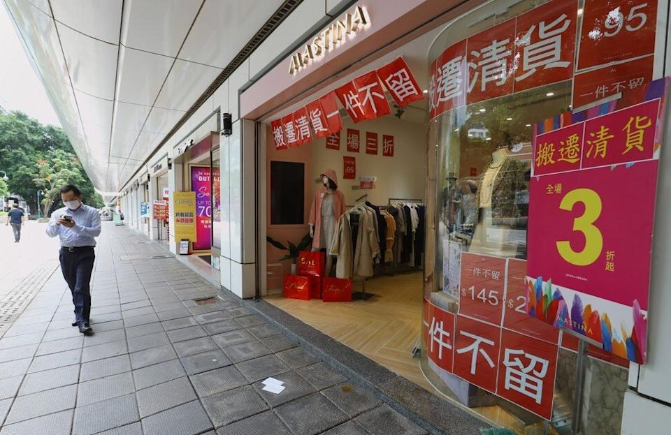 Retailers struggle with a dearth of shoppers from mainland China. Photo: Dickson Lee