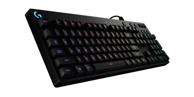 Les claviers gaming Logitech G810/G910 Orion Spectrum à -30% sur Amazon