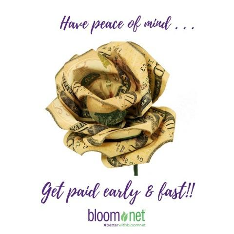 Florists Can Increase Their Cash Flow With the BloomNet® Early Pay, Cash Your Way Mother's Day Promotion