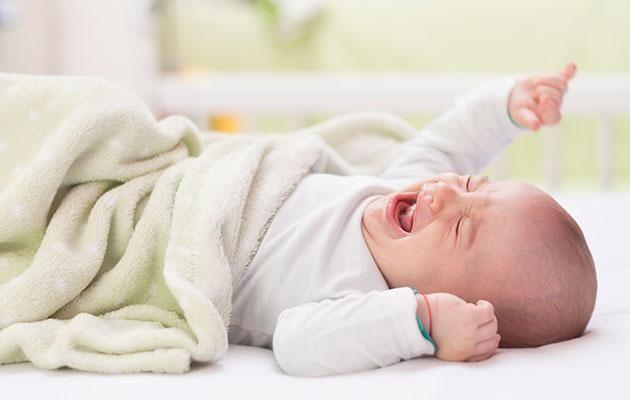 Learn to read your baby's tired signs. Photo: Getty