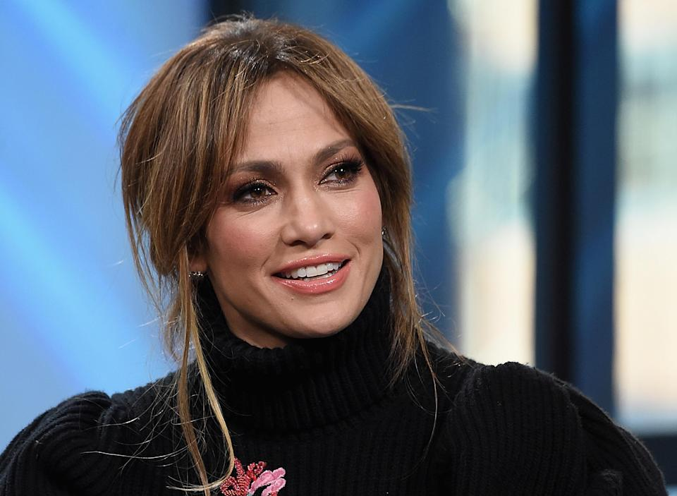 J. Lo's 9-year-old daughter made her a dress, which is clearly so awesome