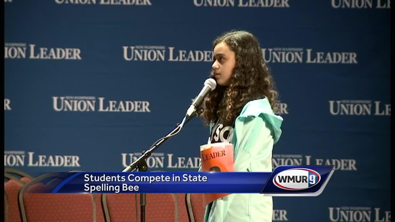 Amanda Medina, an eighth grader from Portsmouth Christian Academy, will represent New Hampshire at the Scripps National Spelling Bee in May.
