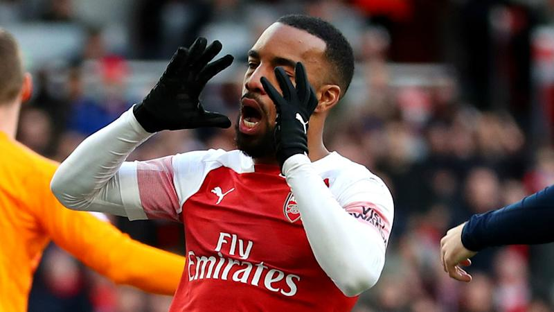 Lacazette braced for 'difficult' end to Arsenal's top-four bid