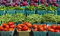 """<p>There's something about the beautiful, ultra-fresh fruits and veggies at a farmers market that just lift your spirits. Shop your local market hand in hand and then prepare a delicious, nutritious meal together with what you've bought. It's a simple date, but one that will bring you closer than ever.</p><p><strong>Related: </strong><a href=""""https://www.countryliving.com/food-drinks/g4381/summer-dinner-recipes/"""" rel=""""nofollow noopener"""" target=""""_blank"""" data-ylk=""""slk:Summer Dinner Ideas That Make the Most of the Season's Bounty"""" class=""""link rapid-noclick-resp"""">Summer Dinner Ideas That Make the Most of the Season's Bounty</a></p><p><a class=""""link rapid-noclick-resp"""" href=""""https://www.amazon.com/Reusable-Foldable-Groceries-Waterproof-Eco-Friendly/dp/B07NV84Z6H/ref=sxin_10?tag=syn-yahoo-20&ascsubtag=%5Bartid%7C10050.g.35949770%5Bsrc%7Cyahoo-us"""" rel=""""nofollow noopener"""" target=""""_blank"""" data-ylk=""""slk:SHOP REUSABLE GROCERY BAGS"""">SHOP REUSABLE GROCERY BAGS </a></p>"""