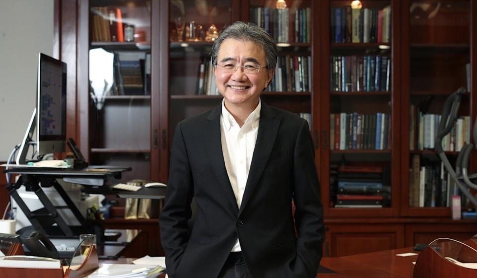 Baptist University president Roland Chin says he is retiring because of his age, not politics. Photo: Xiaomei Chen