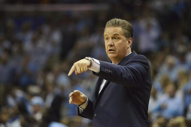 John Calipari will coach two Kentucky players and four potential recruits at the U-19 World Championships next month. (AP)
