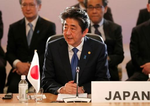 Japanese Prime Minister Shinzo Abe was likely to push for continued pressure on Pyongyang at a trilateral summit with South Korea's President Moon Jae-in and Chinese Premier Li Keqiang