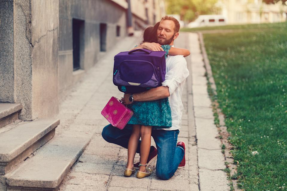 Experts believe we could see some children suffering from separation anxiety when they go back to school or nursery. (Getty Images)
