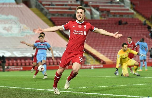 Diogo Jota has impressed since joining Liverpool (Peter Powell/PA)