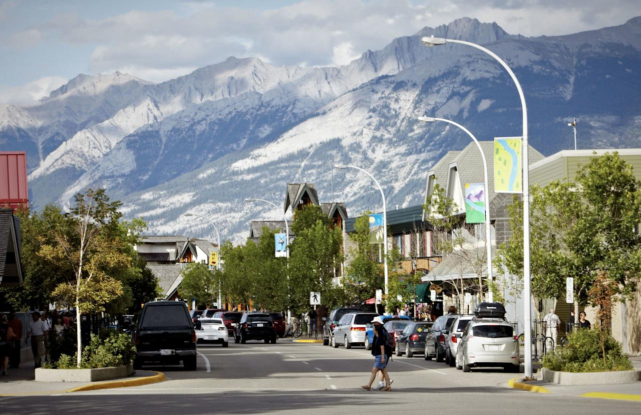 <p>Further north along the Icefields Parkway is Jasper, a former railroad town that sits in the middle of Jasper National Park. For some of the best aerial views, take the Jasper Gondola to the peak of the Canadian Rockies. <span></span></p>