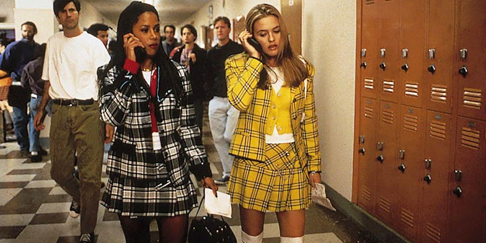 """<p>Go as something boring this Halloween? """"Ugh! As if!"""" </p><p><em>Clueless' </em>schoolgirl-chic plaid outfits are nothing short of iconic, so go all-out with these cute costumes and your favorite '90s babes.</p>"""