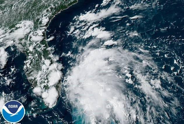 Tropical depression forms in the Bahamas, expected to bring rain to Florida