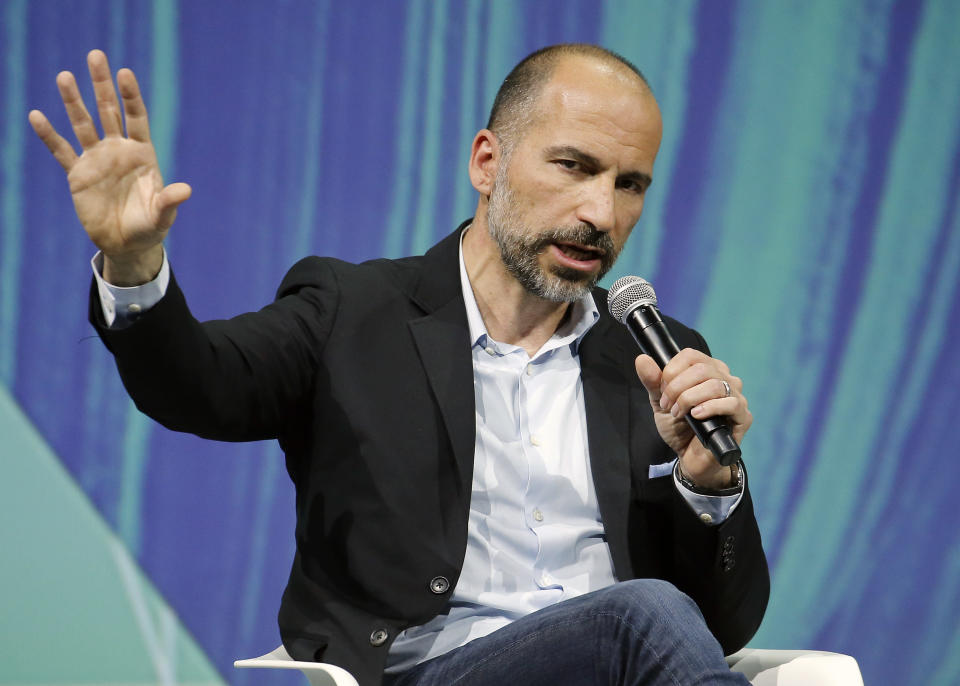 Dara Khosrowshahi says he was most nervous about one thing before taking the helm of Uber last year.