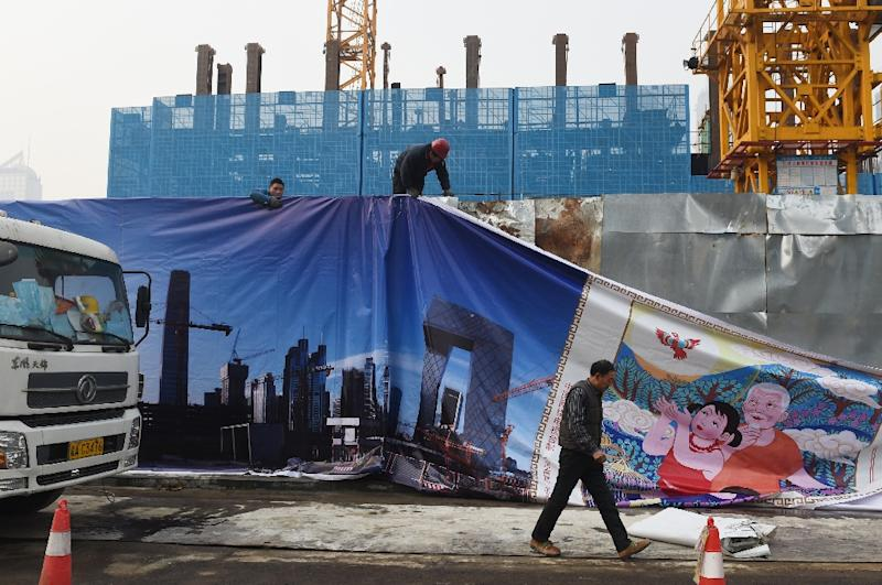 China's leaders are looking to transform the country's economic model away from the investment and exports of the past to one more oriented towards domestic consumer demand (AFP Photo/Greg Baker)