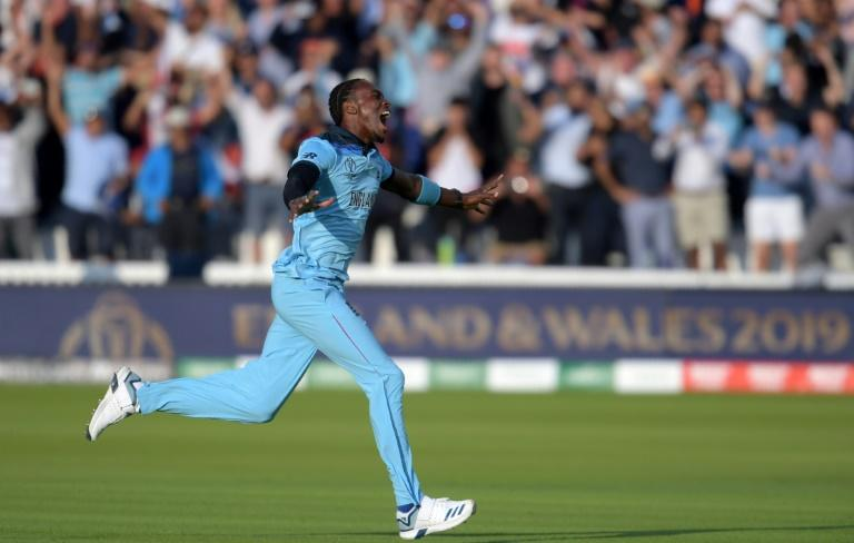 Medal find - Jofra Archer was a key figure in England's 2019 World Cup triumph